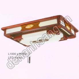 Đèn mâm ốp trần Gỗ A2G-EUMG-002
