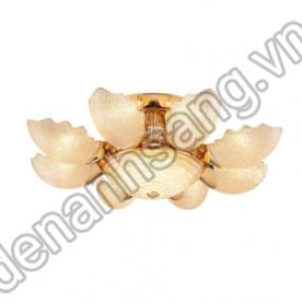 Đèn ốp trần pha lê phong cách Châu Âu A2PL-H600/8