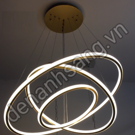 Đèn thả LED 3 chế độ màu Ø800xØ600xØ400mm A3HD-CT-G1