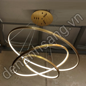 Đèn thả LED 3 chế độ màu Ø800xØ600xØ400mm A3HD-CT-G2