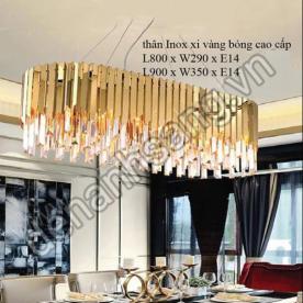 Đèn chùm Pha Lê L800⇒L900mm A1PL-THCN849E-20