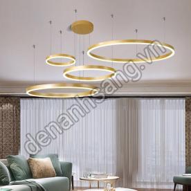 Đèn thả trang trí LED A3HD-TH831A-20 Viền vàng