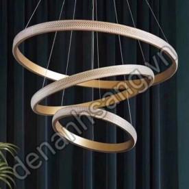 Đèn thả vòng trang trí 3 chế độ ánh sáng (kèm điều khiển) A3HD-CTG54-6-8