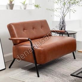 Ghế Sofa 2 người màu nâu A8TB-SP198