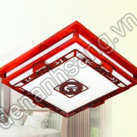 Đèn ốp trần gỗ A2G-OTG013